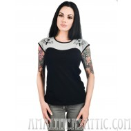 Too Fast Bat Lace Dame Top